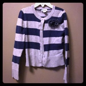Old navy stripe cardigan
